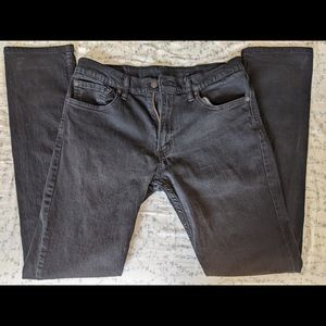 Levi's 511 Men's slim fit black jean